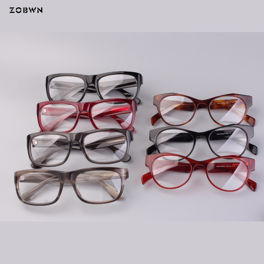 c4c0fc957d0a Mix wholesale cat eye Glasses women for reading myopia Frame Clear lens  Woemn Transparent Eyeglasses black brown Glasses Frame