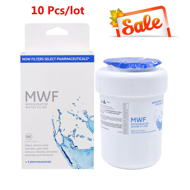 Water Purifier General Electric Mwf Refrigerator Filter Replacement Cartridge 10 Pcs Lot