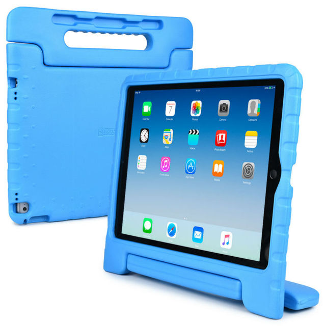 online retailer 4461f a6760 US $21.45 |Kids Case for Apple iPad Pro 12.9 (2015/2017), Cooper Dynamo  Rugged Heavy Duty Children's Boys Girls Case Cover + Large Handle-in  Tablets & ...