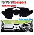 Car dashboard covers mat for Ford Ecosport 2013-2016 years Right hand drive dashmat pad dash cover auto dashboard accessories