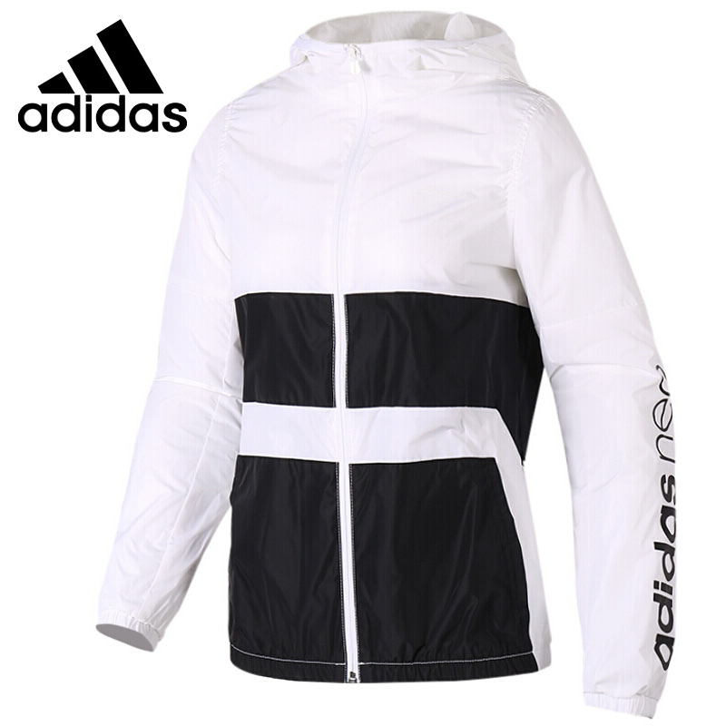 Original New Arrival 2018 Adidas Neo Label W WB CLR BLCK Women's jacket Hooded Sportswear original new arrival 2018 adidas neo label w wb clr blck women s jacket hooded sportswear