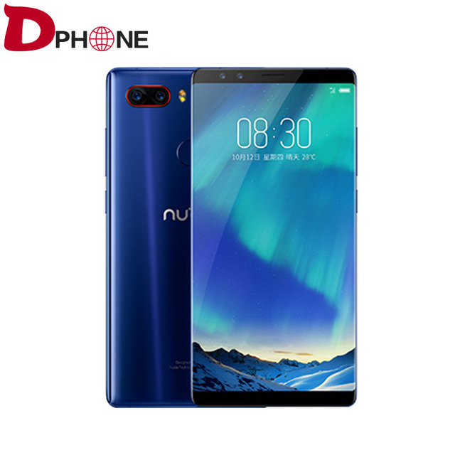a52e73d43 Original ZTE Nubia Z17S Full Screen Mobile Phone Snapdragon 835 6GB RAM  64GB ROM 5.73 inch Android 7.1 Dual Front Rear Cameras