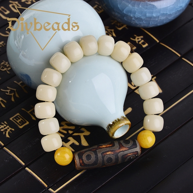 New Pu Tizi With Beeswax Bracelet Natural Stone Lap Bracelets Jewelry Charm Beads Gifts Diybeads