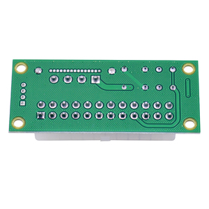 Image 5 - CHIPAL Dual PSU מתאם ATX 24Pin כדי 4Pin SATA כוח סנכרון Starter כרטיס הארכת כבל ADD2PSU Riser עבור Bitcoin כרייה כורה
