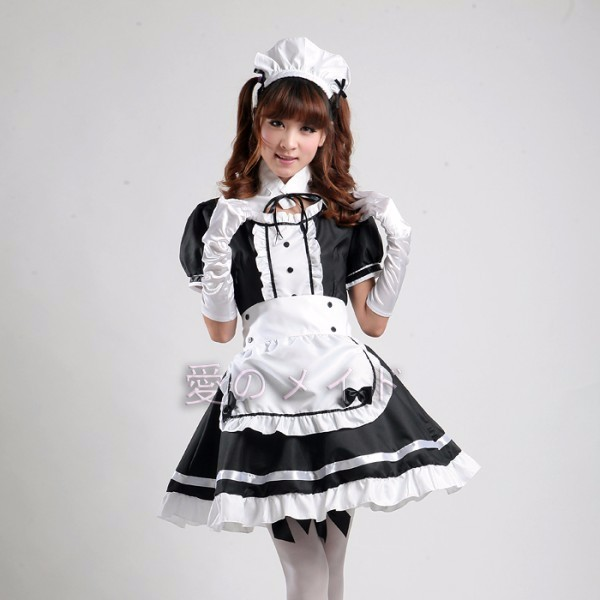DB23978 sissy maid uniform-8