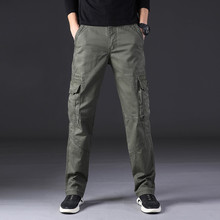 Feitong new Men's Pants Cool Summer Hot 2019 Male Trousers Leisure Pant Clothes Multi-Pocket Spring Overalls Streetwear
