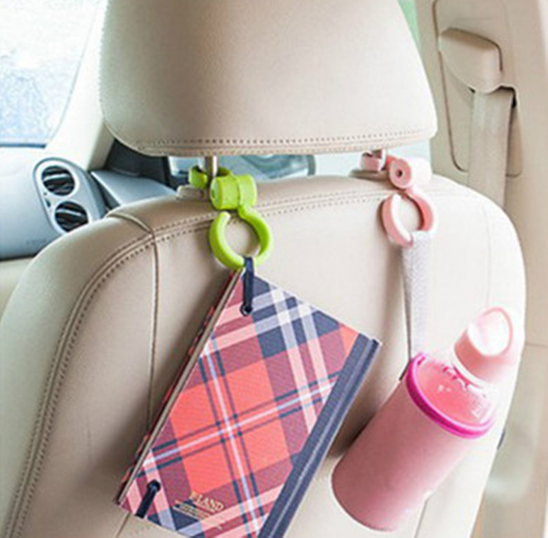 1pc Multi-function Interior Auto Car Hooks For Hanging Car Hanger Bag Organizer Hook Seat Headrest Holder Car Accessory Top Watermelons Bathroom Fixtures