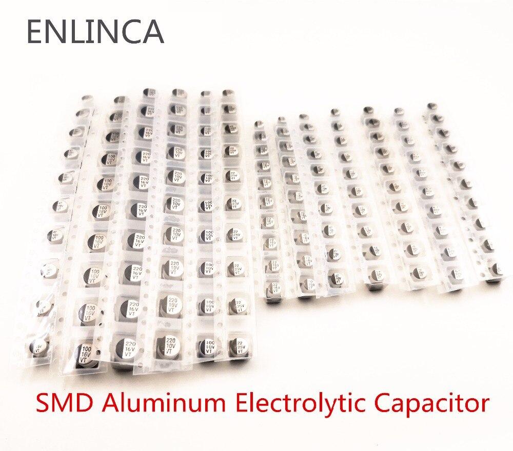 10pcs 16V 100uF 16V Panasonic S 8x6.2mm SMD Chip type Electrolytic Capacitor