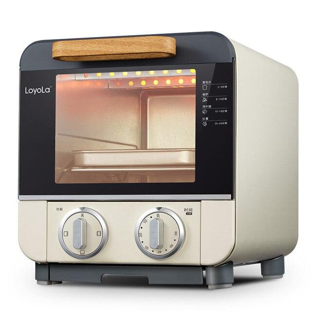 9L famille poulet rôtissoire gril électrique four cuisson grille-pain four convection four cuisine équipement petit déjeuner machine