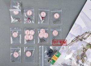 Image 4 - New Metal Details Up Parts Set For Bandai 1 100 MG New Nu V Gundam ver Ka Model Kit  Childrens DIY Birthday Gift Free Shipping