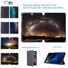 Fashion Universe Aurora PU Leather Smart Cover Folio Stand Tablet Funda Case for Samsung Galaxy Tab S2 9.7″ SM-T810 T815 T813