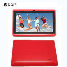 BDF 7 Inch Android 4.4 Quad Core Tablet Pc Android 512M+8GB Tablet Dual Camera 1024*600 BabyPAD Bluetooth WiFi Kids Tablet 7
