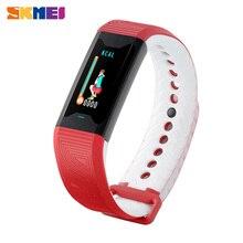 SKMEI Men/Women Smart Watch Health Reminder Heart Rate Monitor Blood Oxygen Sports Calories Distance Digital Waterproof Watch недорого