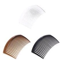 5 шт./компл. расческа ручной работы 23 зуба пластик головные уборы аксессуары для волос для женщин DIY клип Jan5