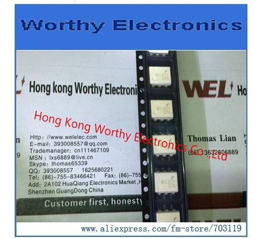 Envío gratis 10 unids/lote optoacoplador 4.17KV TRIAC 6SMD MOC3021SR2M