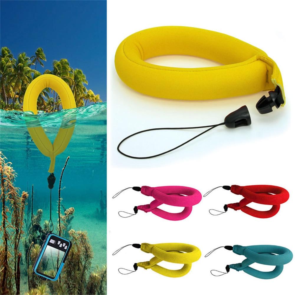 Cewaal водонепроницаемый плавательный Дайвинг плавающий пенопласт камера ручной ремешок для Gopro Спорт действие видеокамера s подарок