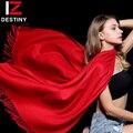 Женский шарф DESTINY 2018  зимние женские шарфы люксового бренда  модные женские шарфы с кисточками  бандана  шаль  Пашмина  кашемировый шарф