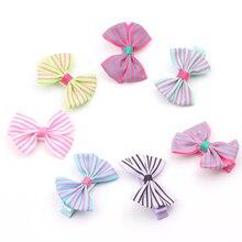 Cute princess hairgrip flowers Bowknot Hairpins children hair clips kids girls handmade Barrettes Accessories headwear
