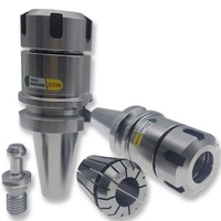 MZG BT40 ER16M 70L M Type ER Spring Collet Chuck Precision Toolholders for Milling Drilling Arbors Milling Machining Tools