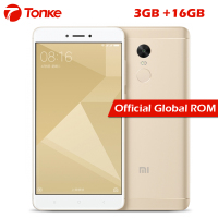 Official Global Rom Xiaomi Redmi Note 4X 3GB RAM 16GB ROM Mobile Phone Snapdragon 625 Octa Core 5.5