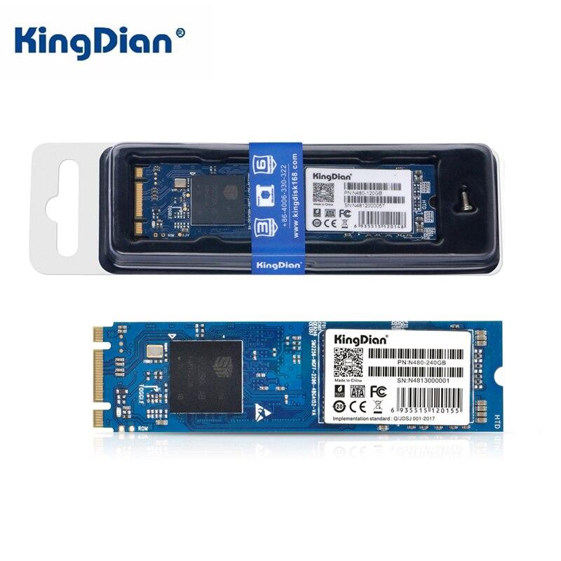 Nouvel ordinateur portable KingDian NGFF2280 Interface M.2 N480-120G disque SSD 240 go