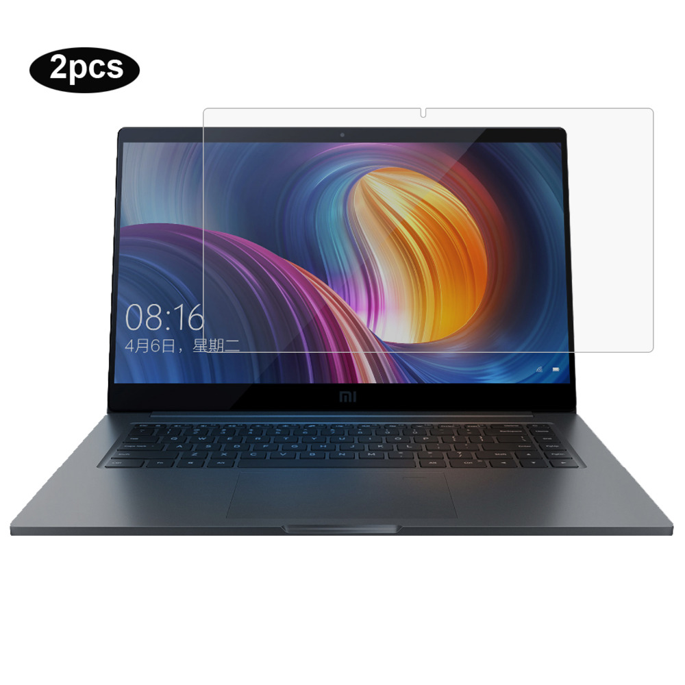 Transparent Laptop Screen <font><b>Protector</b></font> für Xiao mi mi <font><b>notebook</b></font> <font><b>Pro</b></font> laptop 15,6 zoll <font><b>Notebook</b></font> HD Kristall Clear LCD Schutz Film 2pc image