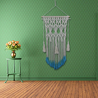 Luxury Macrame Wedding Hanging Backdrop Wall Hanging Tapestry Bohemian Cotton Hand Knotted Wall Decoration for Living Room