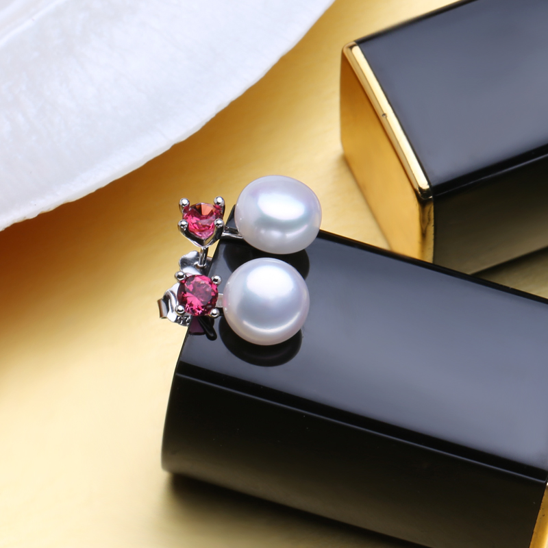 MINTHA 925 ստերլինգ արծաթյա մարգարիտ - Նուրբ զարդեր - Լուսանկար 3