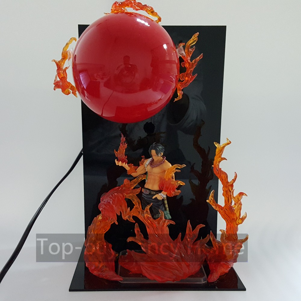 <font><b>One</b></font> <font><b>Piece</b></font> <font><b>Action</b></font> <font><b>Figure</b></font> Ace Big Fire Ball DIY <font><b>Anime</b></font> Figuarts <font><b>One</b></font> <font><b>Piece</b></font> <font><b>Anime</b></font> Model Toys Ace + Ball+<font><b>Base</b></font> (fire can choose)