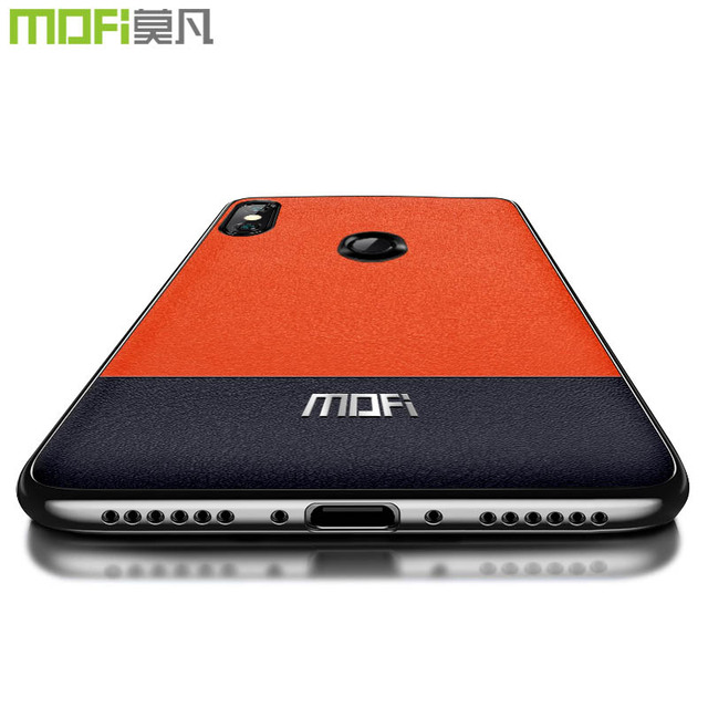Mofi Xiaomi Redmi Note 6 Pro Splicing Contrast Back Case Cover