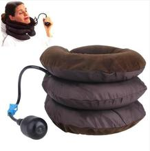 3 Layer Inflatable Air Cervical Neck Back Traction Device for Pain Relief Neck Travel Pillow цены онлайн