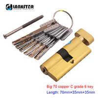 All Copper Large 70 Knob Small 70 Single Open C-class Blade Lock Core Universal Security Door Super B-class C-class Locks Core