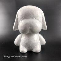 1 pcs Foam Dog Rabbit White Craft Modelling Polystyrene Styrofoam Balls For DIY Party Decoration Supplies Gifts Valentine's Day