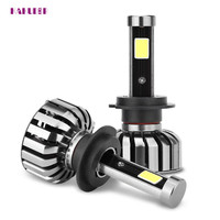 2017 car styling LED H7 HB2 80W 8000LM ChipsLED Headlight Kit Hi/Lo Beam Bulbs 6000K may03