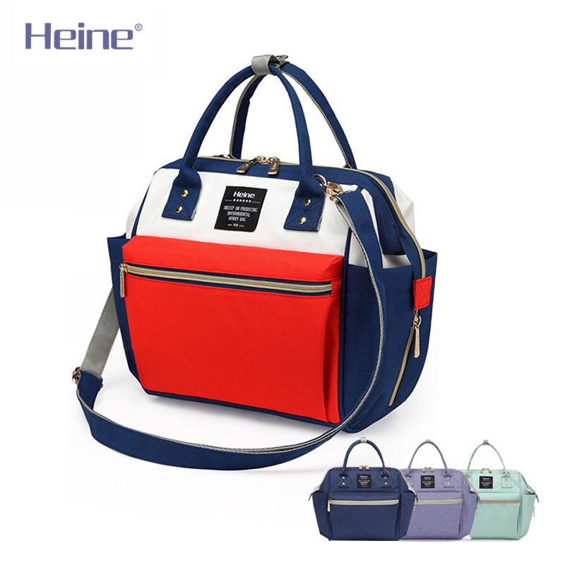 Heine Baby Diaper Bag Fashion Mummy Maternity Nappy Bag Large Capacity Baby Bag Travel Backpack Designer Nursing Bag H10196 quelle heine 140868