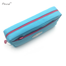 Canvas School Pencil Case Large Capacity Pencil Bags Multifunction Storage Manager Stationery Kids Gifts