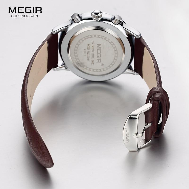 Megir quartz ρολόγια ανδρών φωτεινό - Ανδρικά ρολόγια - Φωτογραφία 6