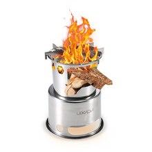 Портативная складная деревянная плита Lixada, уличная легкая плита из нержавеющей стали для пикника, кемпинга, приготовления пищи, деревянная плита для кемпинга