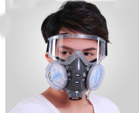 Anti-Dust protective Mask with goggle Dusk Respirator Filter cutton Mask haze PM2.5 breather valve Painting Spraying industrial беспроводная акустика sony srs x11 красный