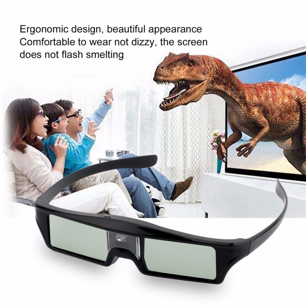 New 3D IR Active Shutter Glasses For BenQ W1070 W700 W710ST DLP-Link Projector Hot Promotion