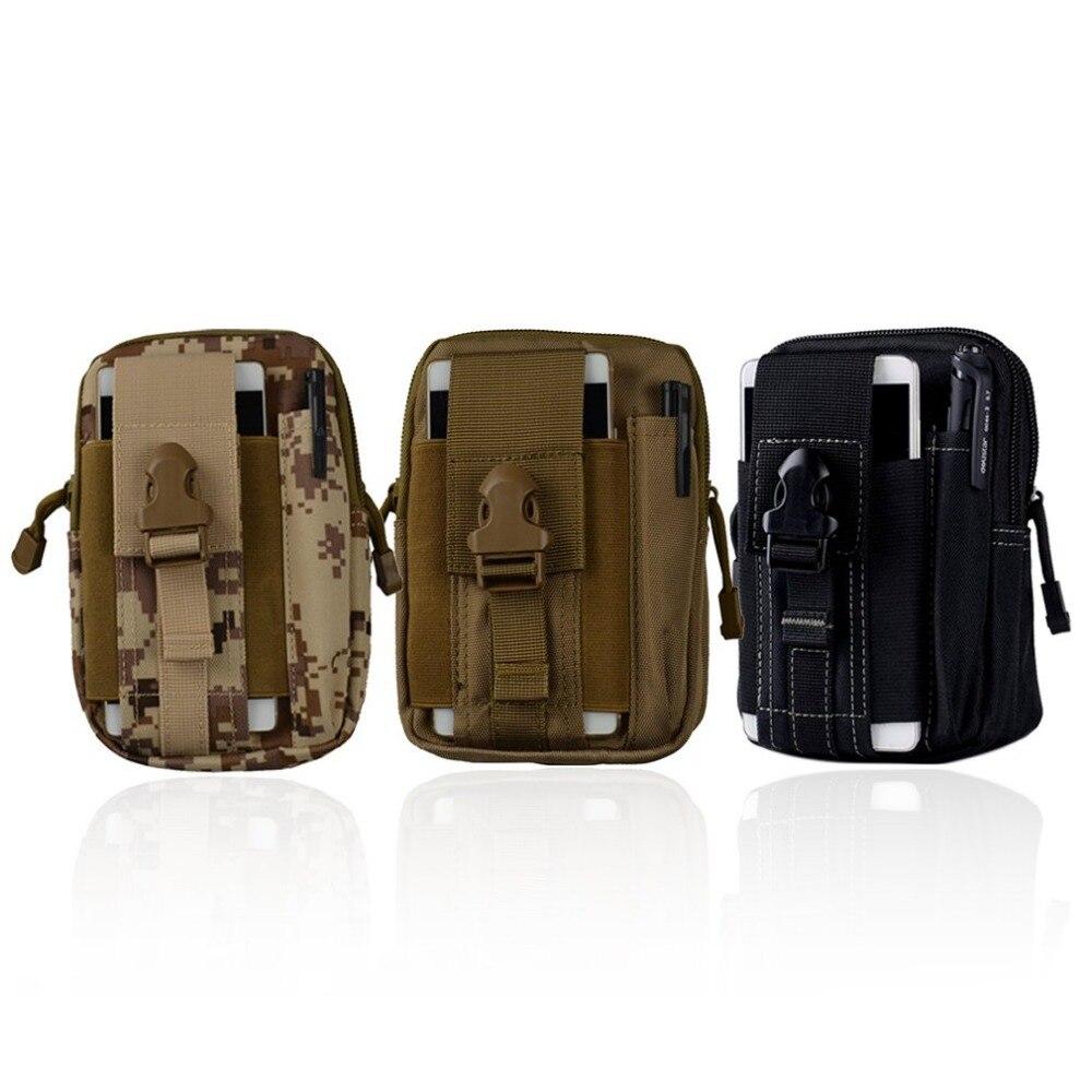 Faithful 5.5/6 Inch Multifunctional Outdoor Man Woman Camping Tactical Sport Waist Pack Belt Bag Hiking Unisex Phone Belt Bag Bright Luster