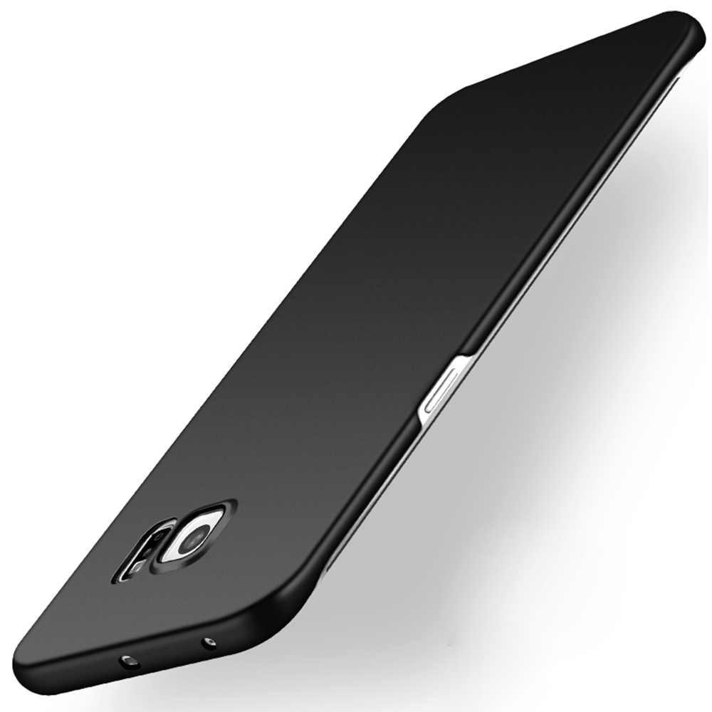 מקרה לסמסונג גלקסי S6/S 6 קצה/S6edge בתוספת Duos טלפון סלולרי כיסוי Ultrathin קשיח פלסטיק אופנה חזרה Coque