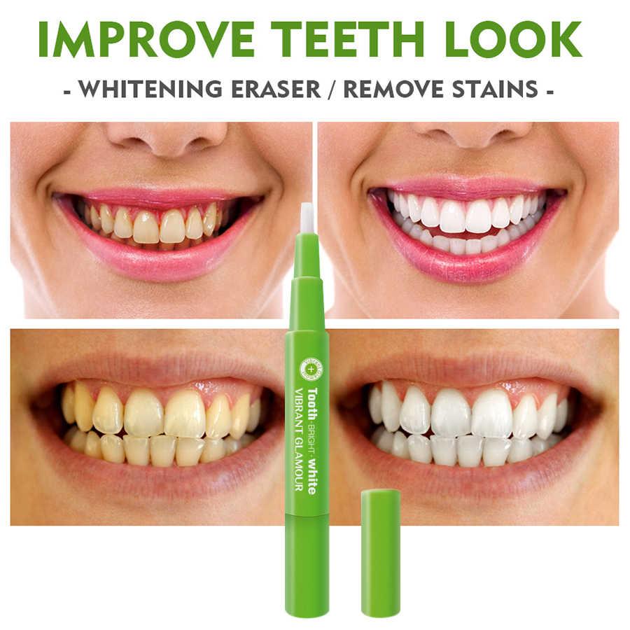 Sống Động GLAMOUR Làm Trắng Răng Bút Vệ Sinh Serum Loại Bỏ Mảng Bám Vết Bẩn Răng Dụng Cụ Vệ Sinh Răng Miệng Răng Gel WhitenningToothpaste