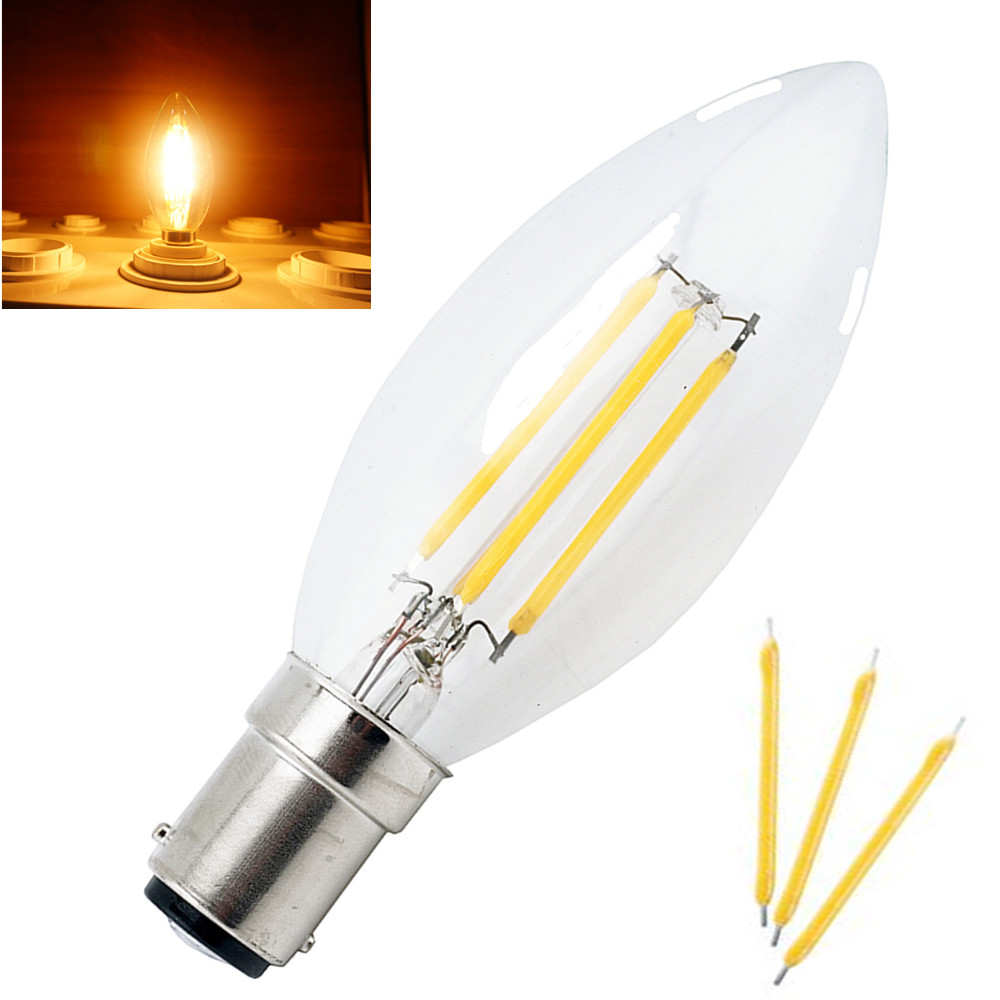 Energy saving c35 b15 led candle bulb 4w 220v filament light bulb energy saving c35 b15 led candle bulb 4w 220v filament light bulb crystal chandelier led lamp with glass torpedo shape in led bulbs tubes from lights arubaitofo Image collections