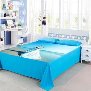 Image 5 - DIY custom bed sheet  creative personality photo The blanke wedding celebration  bedding cover bed sheet birthday gift 2019