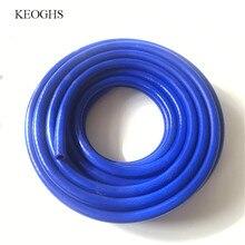 KCSZHXGS силиконовый шланг для автомобиля тепловая трубка ID от 3 мм до 28 мм Универсальный впускной шланг водяной вакуумный шланг выхлопная труба 1 м