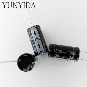 Image 1 - مكثف كهربائيا 1000 فائق التوهج 25 فولت 20 قطعة من الألومنيوم