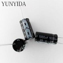 1000 uf 25 v 20 pces capacitor eletrolítico de alumínio