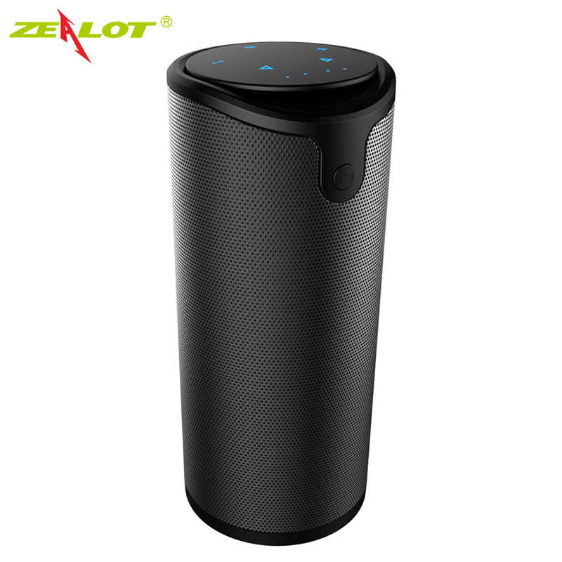 Zealot S8 altoparlanti Bluetooth Touch Control Wireless Portatile Outdoor Doppio corno suono Forte bass Audio Aux/Tf subwoofer