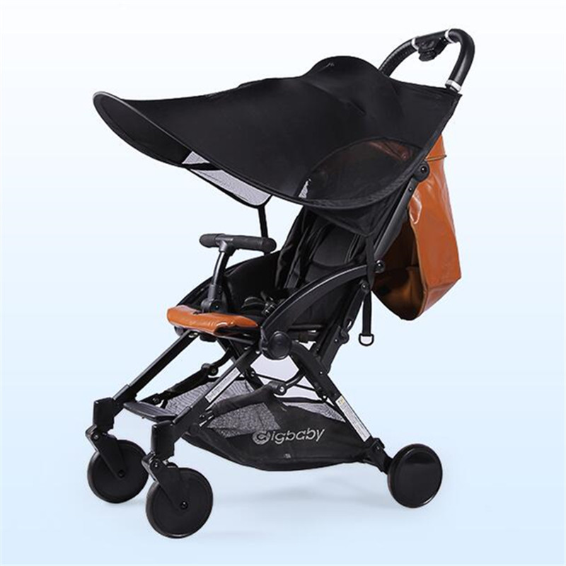 1PC Babyruler 4 Colors Baby Stroller Universal Shade Awning Accessories For Stroller Blocks 99% UV UVB Sun Rays Cover Baby Car цена